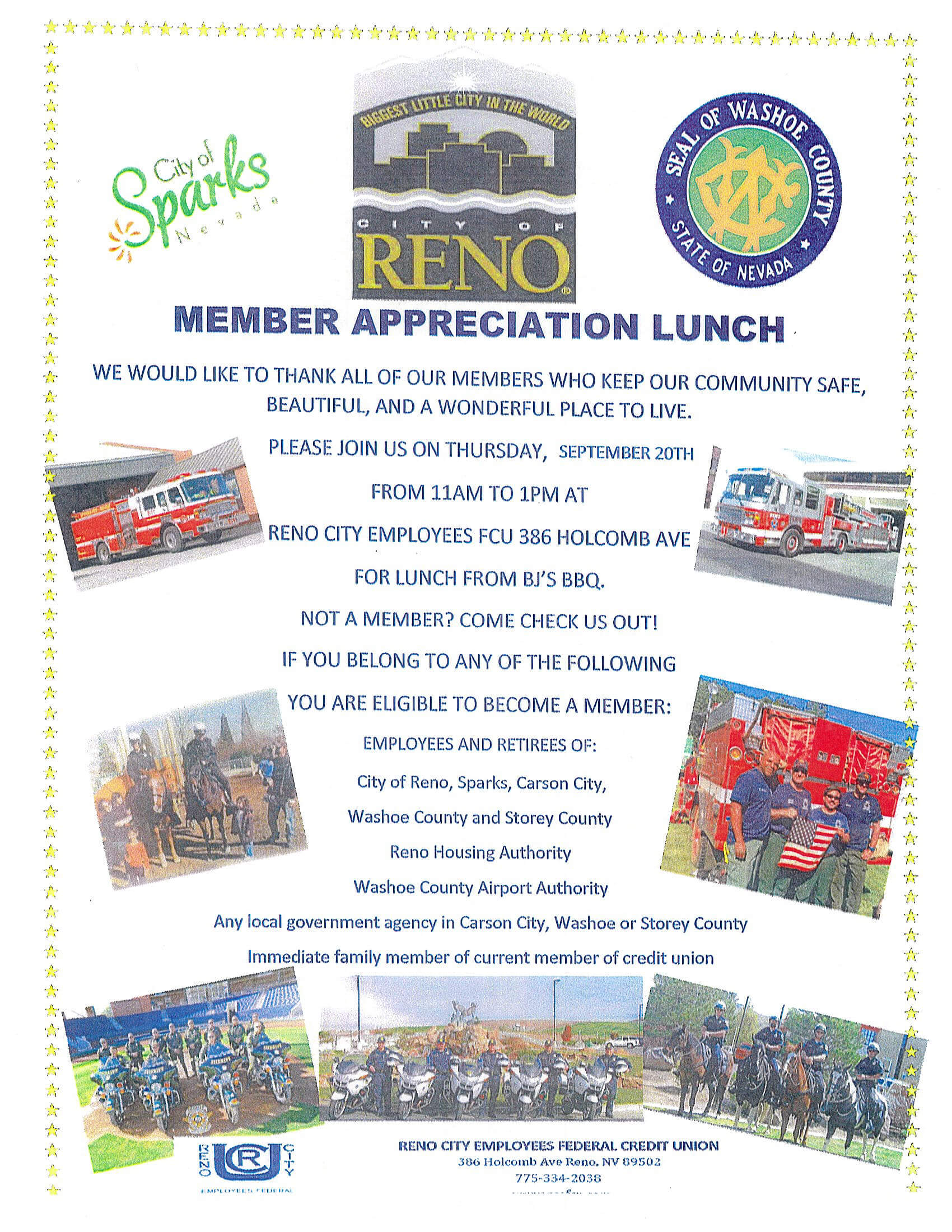 Member Appreciation Lunch